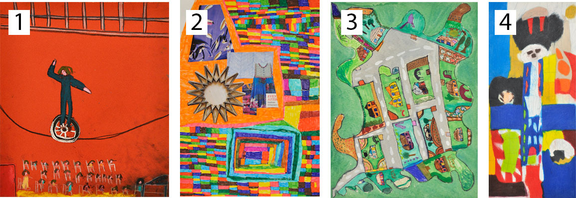 4 images from Arts Project Australia