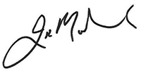 Justin Mohamed signature
