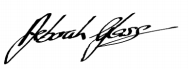 Deborah Glass signature