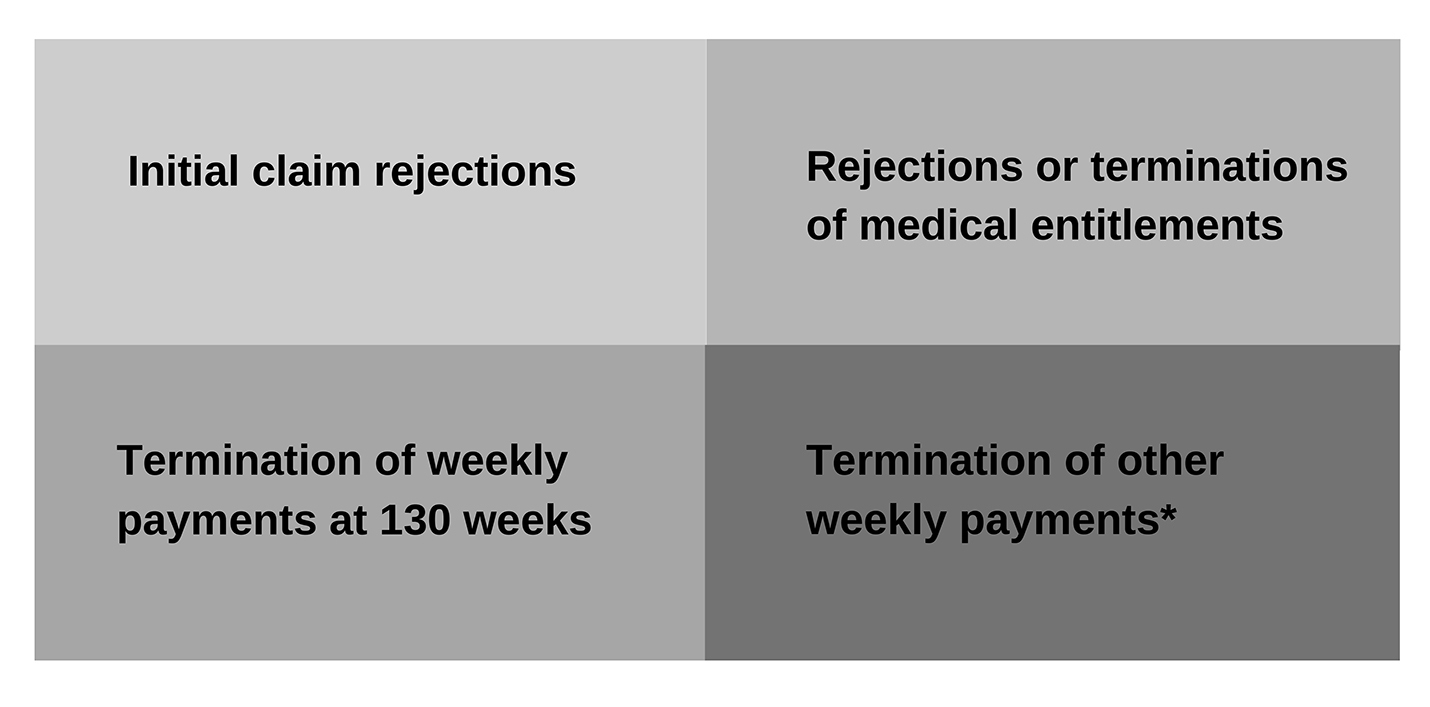 Image showing types of decisions subject to audit