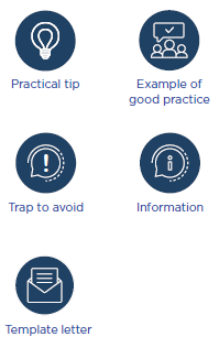 Symbols we use in the report